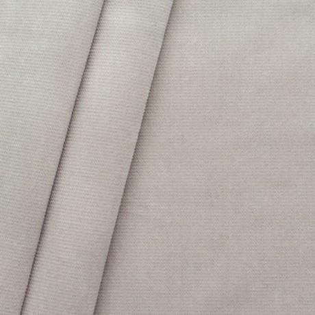 Polster- Möbelstoff Artikel New York Samt-Optik Beige