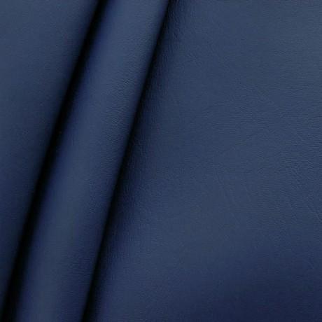Polster PVC Kunstleder schwer entflammbar Adria-Blau