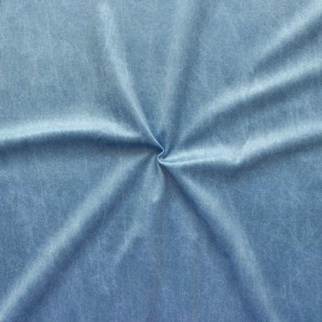 """Polsterstoff Dekostoff Digital Druck """"Jeans Look"""" Blau"""