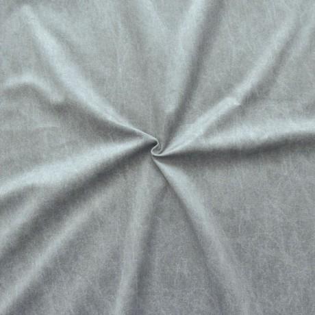 Polsterstoff Dekostoff Digital Druck Jeans Look Grau