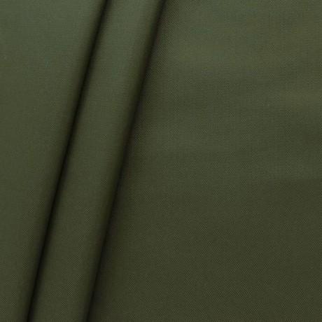 Polyester Anorak Outdoorstoff Oliv-Grün