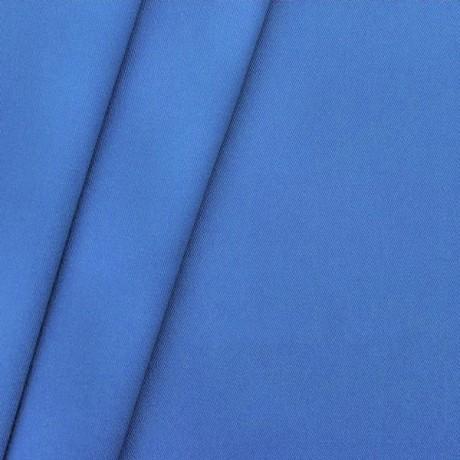 Polyester-Baumwolle Köper Royal-Blau