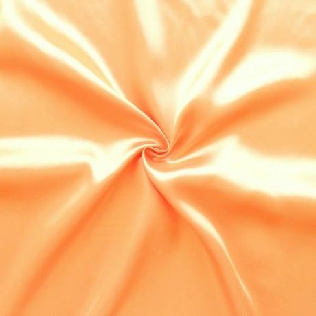Satin Stoff B1 schwer entflammbar Apricot