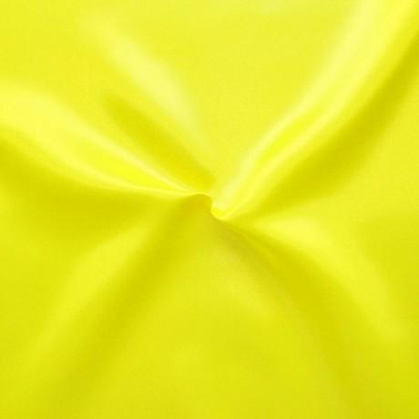Satin schwer entflammbar Neon-Gelb