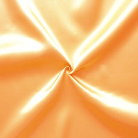 Satin Stoff Apricot