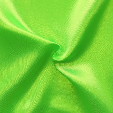 Satin Stoff Gift-Grün