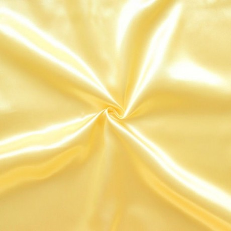 Satin Stoff Gold-Gelb