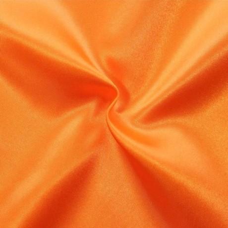Satin Stoff Orange