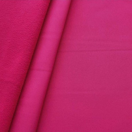 Softshell Fleece Stoff Pink