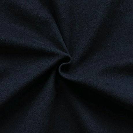 Stretch Baumwolle Samt Nacht-Blau