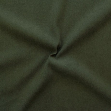 Stretch Baumwolle Gabardine Dunkel Oliv-Grün