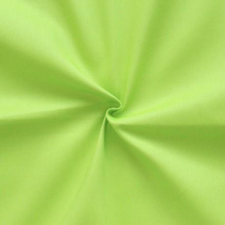 Stretch Baumwollstoff Limetten-Grün