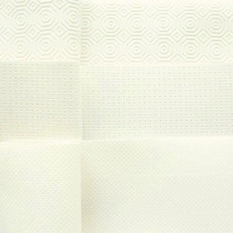 Tischschoner Breite 140cm rutschhemmend, wasserdicht Farbe Weiss