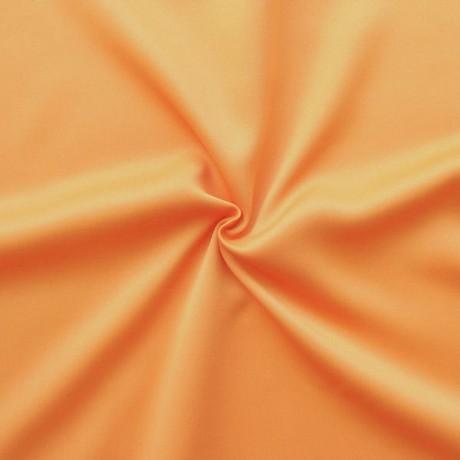 Verdunklungs- Thermo Vorhangstoff Black Out Apricot-Orange