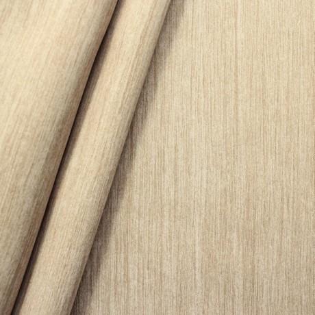 Verdunkelungs- Thermo Vorhangstoff Black Out Holzmaserung Beige