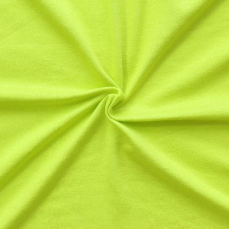 Viskose Stretch Jersey Limetten-Grün