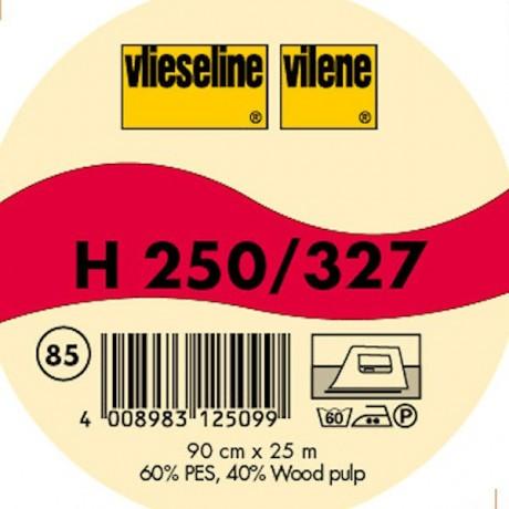 Vlieseline Bügeleinlage Typ H 250 / 327  Schwarz