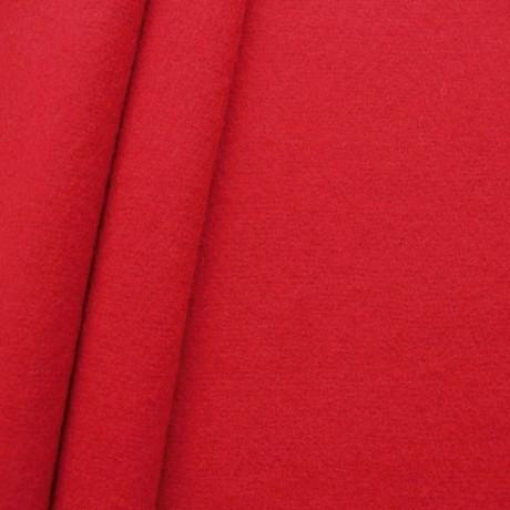 Wollfilz Karmin-Rot