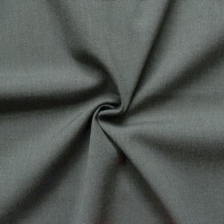 Wollmix Hosen- / Anzugstoff Dunkel-Grau